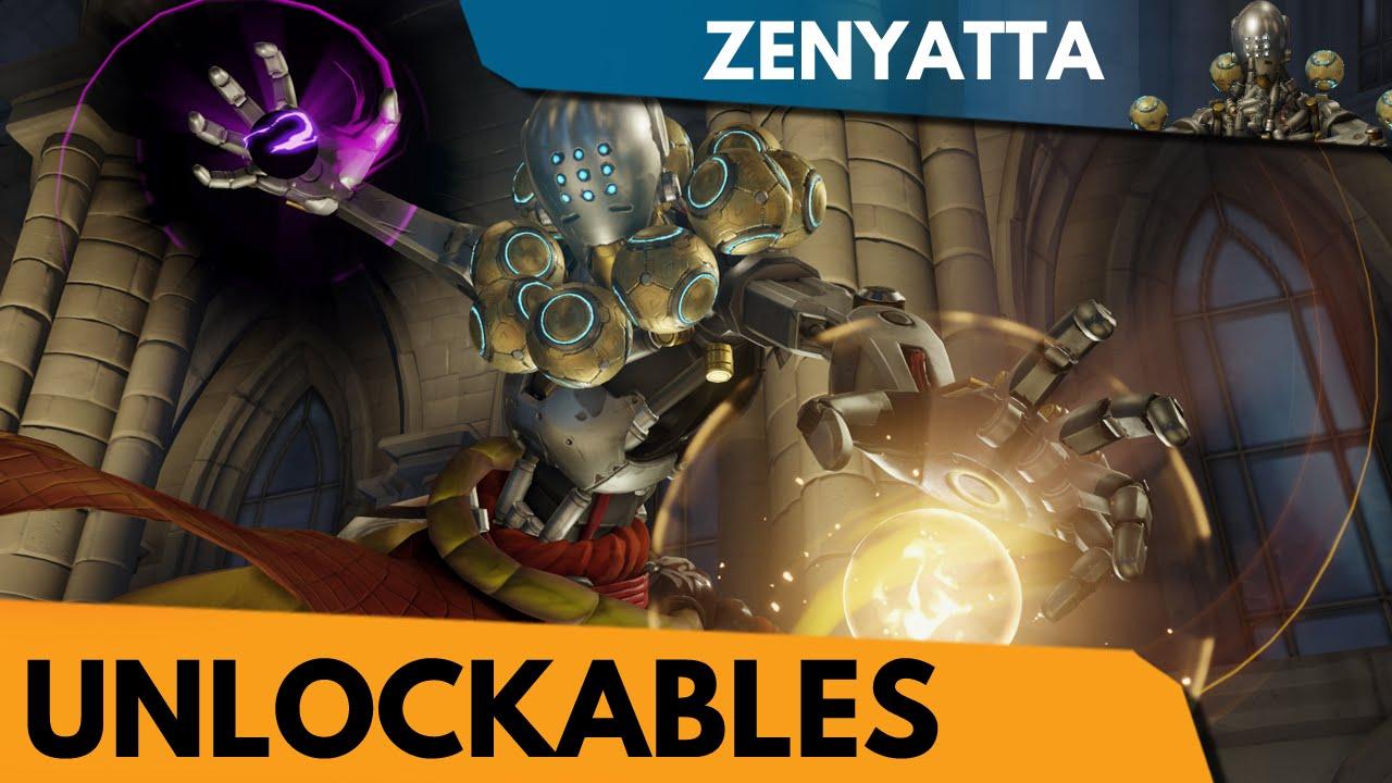 Overwatch Zenyatta Unlockables Youtube