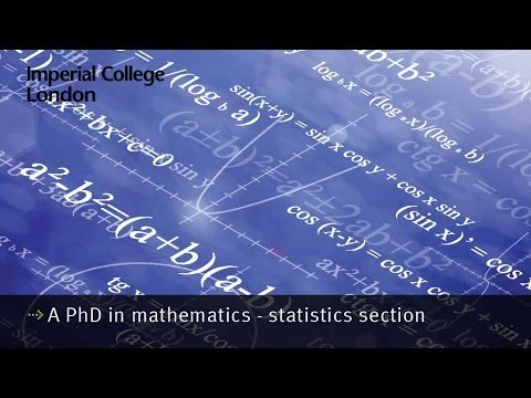 phd thesis in mathematical statistics