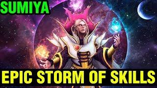 Epic Storm Of Skills By Sumiya Invoker 7.16 Gameplay - Dota 2