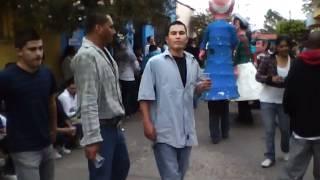 mojigangas fiesta de la loma 2012