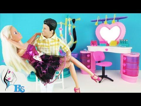 Салон красоты для кукол. Мультик «Первое свидание» Игровой набор Парикмахерская Playset Beauty Salon
