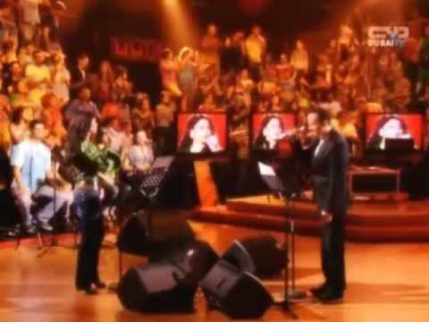 "Haifa Wehbe & Hisham Abbas duet ""Dakhl Ayounik Hakina"""