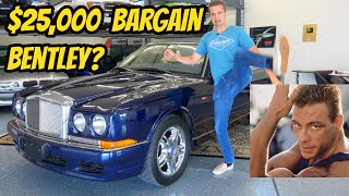 I Bought The Cheapest Bentley Azure In The USA-- Formerly Owned By Jean Claude Van Damme???