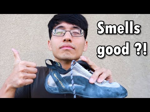 Making Climbing Shoes Smell Like NEW! (Not an exaggeration!)