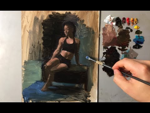 Figure Painting Tutorial | Expressive & Simple
