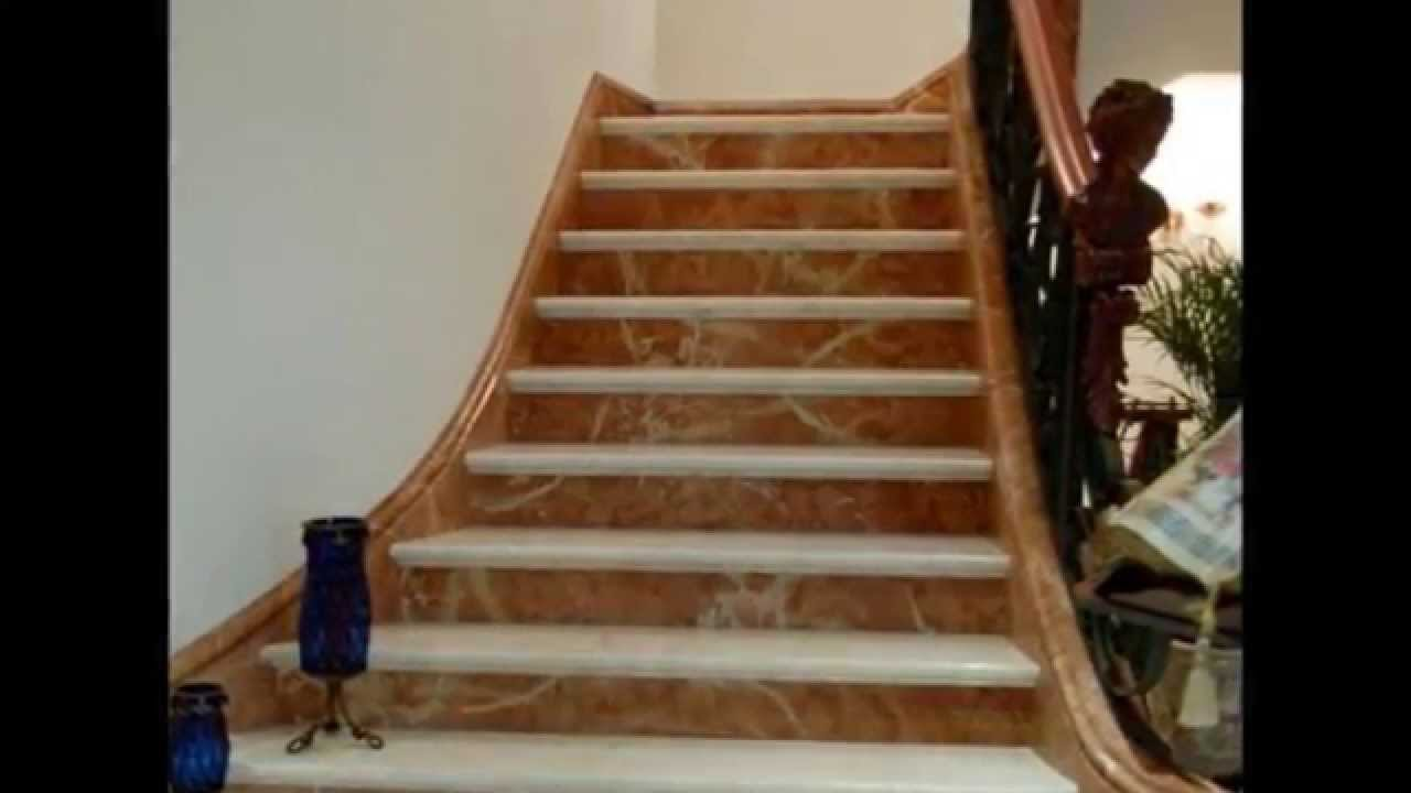 Fine stone escaleras granito cuarzo m rmol onix finos - Marmol para escaleras ...