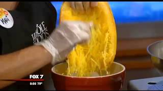 Cooking With Good Day Austin: Spaghetti Squash With Black Beans
