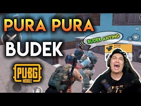 NGAKAK BANGET SQUAD RANDOM EMOSI - PUBG MOBILE INDONESIA