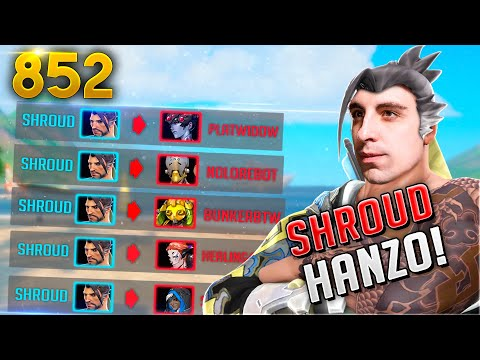 Shroud's HANZO Is Absolutely INSANE!! | Overwatch Daily Moments Ep.852 (Funny And Random Moments)