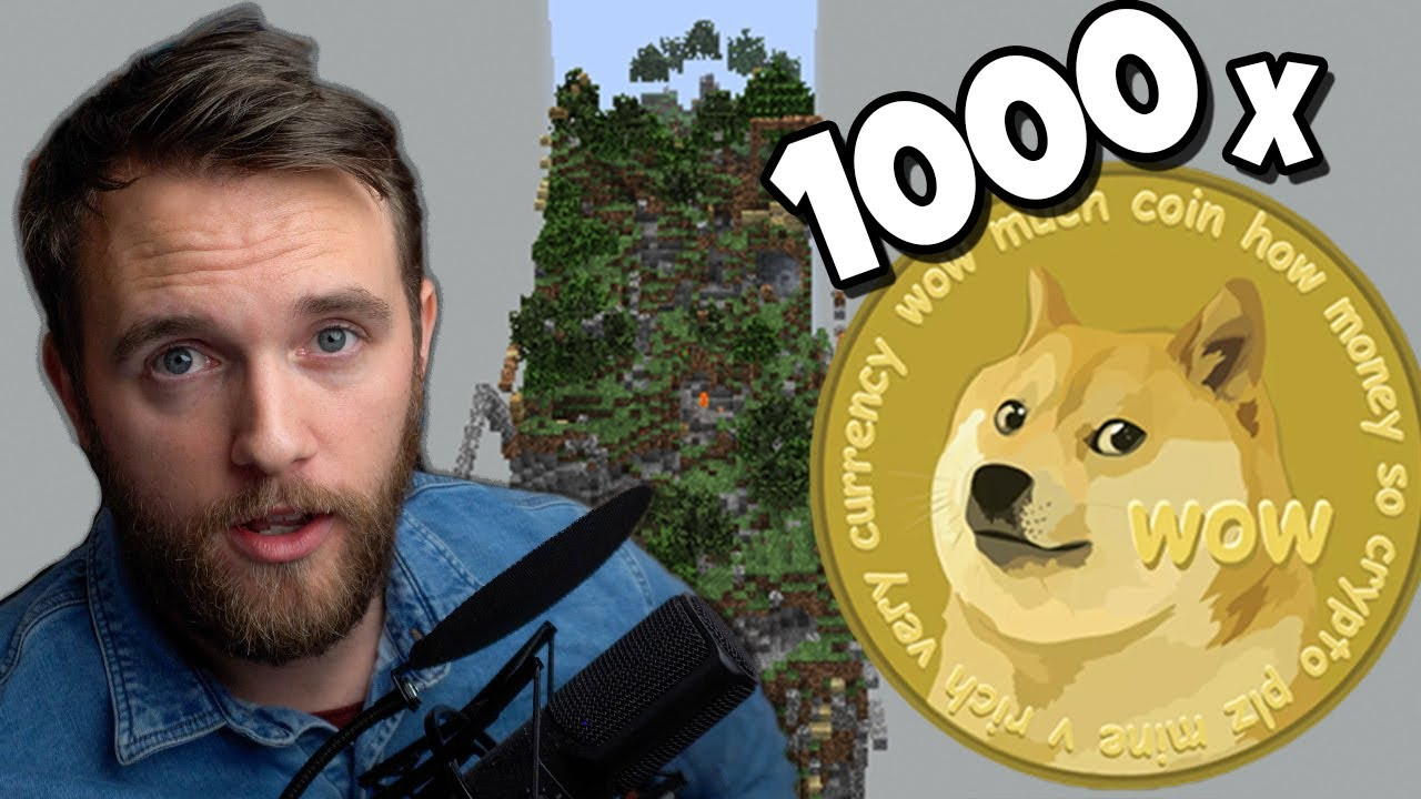 I've Hidden 1000 DogeCoin On A Minecraft Anarchy Server - YouTube
