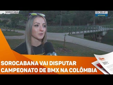 Sorocabana vai disputar campeonato de BMX na Colômbia - TV SOROCABA/SBT