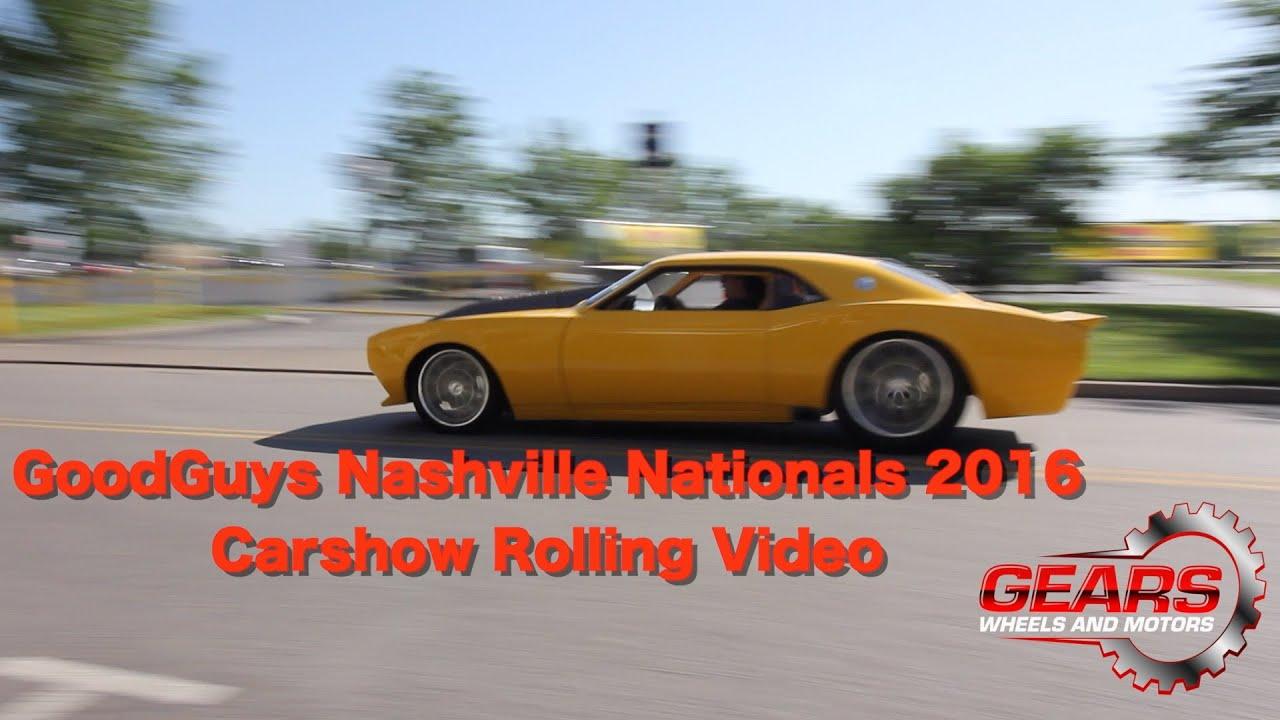 Good Guys Nashville Nationals Rolling Video Car Show Gears - Good guys car show nashville