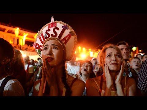 Минус Россия и 'Слава Украине!' | Настоящий футбол | 09.07.18 - Популярные видеоролики!
