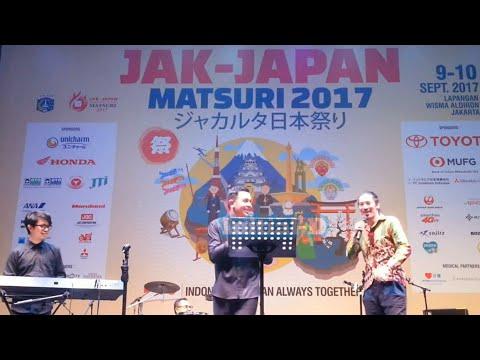 KUTSU (Sepatu) - TULUS ft. HIROAKI KATO ( Live at Jak Japan Matsuri 2017 )
