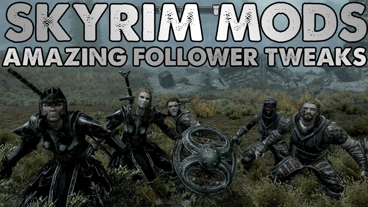 Skyrim Mods 1: MULTIPLE FOLLOWERS + MAKE THEM DANCE!