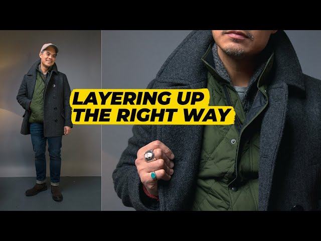HOW TO LAYER Your Clothing & Put Together An OUTFIT (My Thought Process) • Effortless Gent