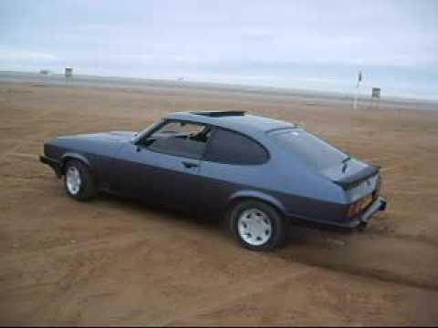 ford capri having fun on the beach in southport youtube. Black Bedroom Furniture Sets. Home Design Ideas