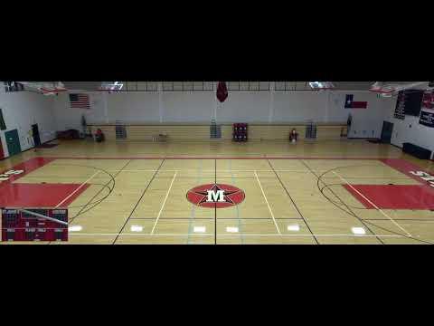 St. John's High vs. The Post Oak School Varsity Mens' Volleyball