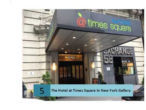 The Hotel At Times Square In New York Gallery