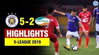 Highlights Hà Nội 5-2 Viettel | Quang Hải cú đúp siêu phẩm Hà Nội ngược dòng không tưởng | Full HD