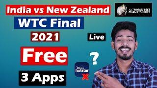 India vs New Zealand WTC Final Live Free - Techy Bhaisaab