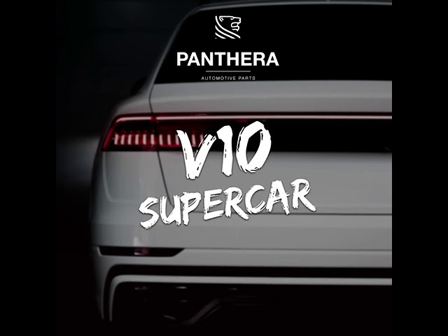PANTHERA LEO Active Sound 4.0 - V10 Supercar