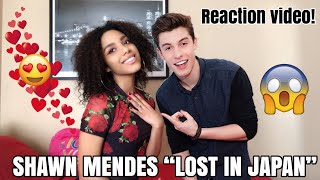 LOST IN JAPAN // SHAWN MENDES - ZEDD REMIX (REACTION VIDEO!) Video