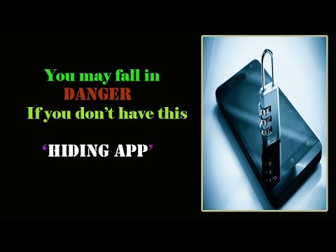 Awesome App to  Hide Data -  No one can find even by search