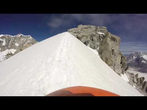 Tour Ronde, Gruppo del Monte Bianco. Mountain Guide.
