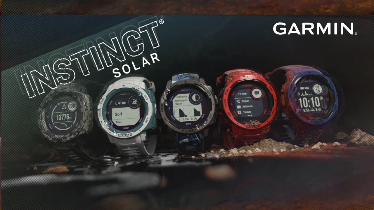 Instinct Solar   Wearables   Products   Garmin   Malaysia   Home