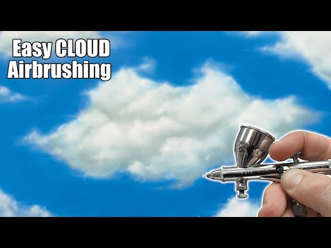 Learn how to Airbrush Clouds
