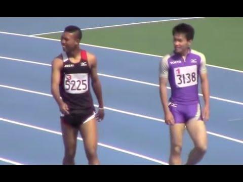 ... 2015東京都高校陸上 男子100m決勝