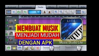 Apk pembuat musik Music Studio Lite
