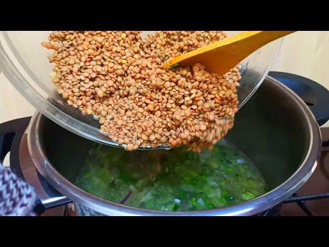 best-lentil-recipe-soup-moroccan-🔝👌-asmr-recipe
