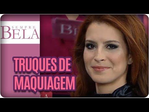 Truques De Maquiagem Das Celebridades: Com Kaká Moraes - Sempre Bela (03/09/17)