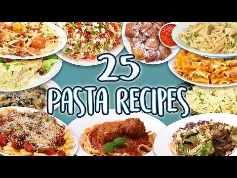 25 Delicious Pasta Recipes | Easy DIY Recipe Compilation with Many Vegetarian Options!