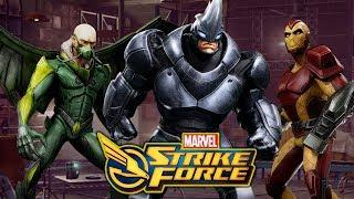 Sinister Six - Vulture - Shocker - Rhino - Marvel Strike Force - MSF