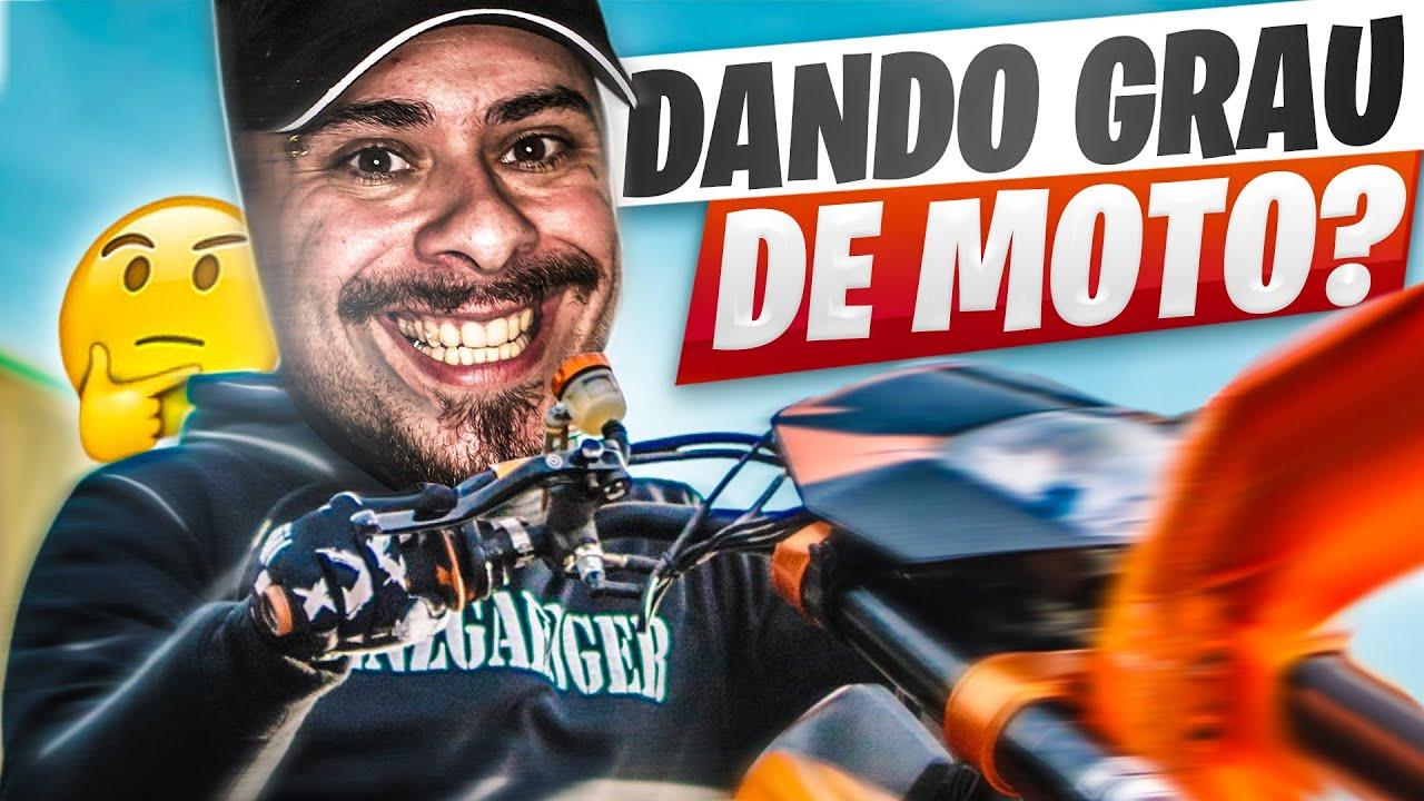 JA POSSO DAR GRAU DE MOTO! - LEO STRONDA