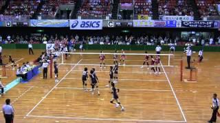 第61回黒鷲旗 NEC VS 日本体育大学(4/6)