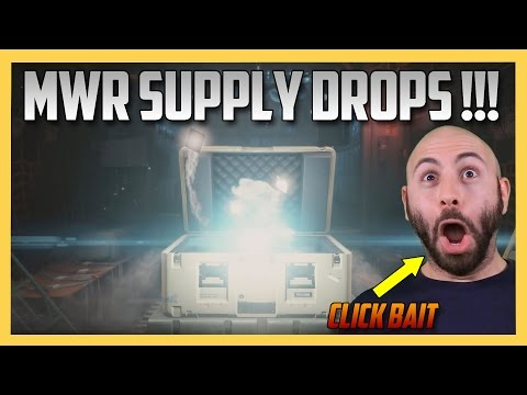 Opening Supply Drop Cases in Modern Warfare Remastered!