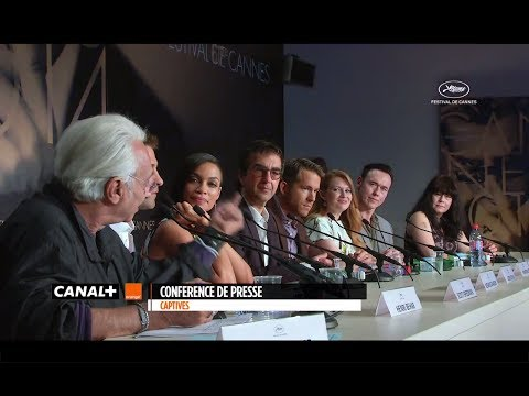 Cannes 2014 - Captives : Press Conference