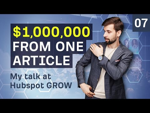 One Million Dollars From One Article
