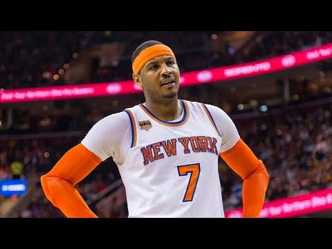 ESPN Disrespected Carmelo Anthony | New York Knicks | MSG Networks