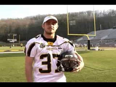 Water Safety with Appalachian State University Football Team
