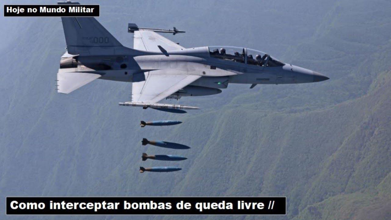 Como interceptar bombas de queda livre