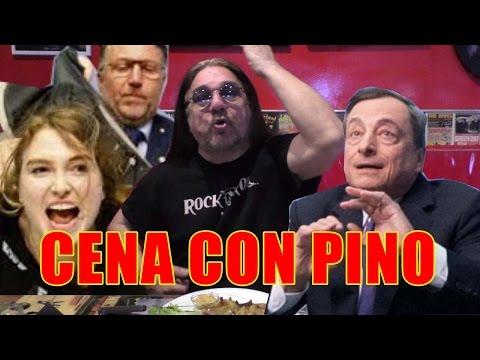 Draghi aggredito dai coriandoli - Pino Scotto