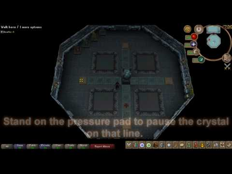 Dungeoneering Puzzle - Crystal Cross