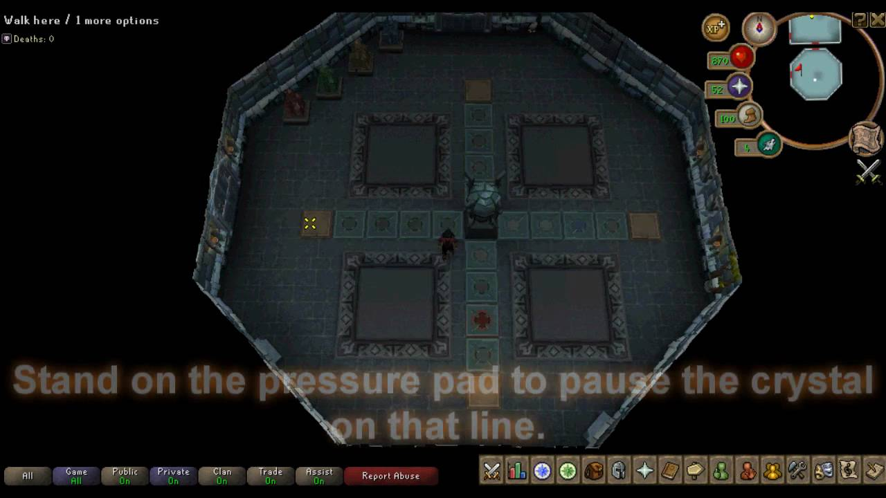 Dungeoneering Puzzle Crystal Cross