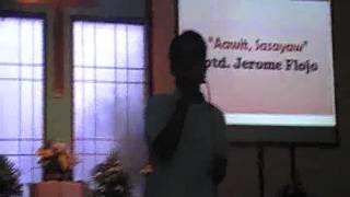 Gen. Trias Unida Choir -Aawit, Sasayaw - Jerome Flojo on vocals