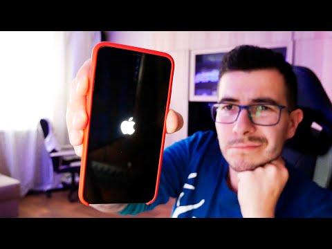 IPhone застрял на логотипе Apple